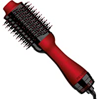 Revlon One-Step Hair Dryer and Volumizer Hot Air Brush, Red Holiday Edition