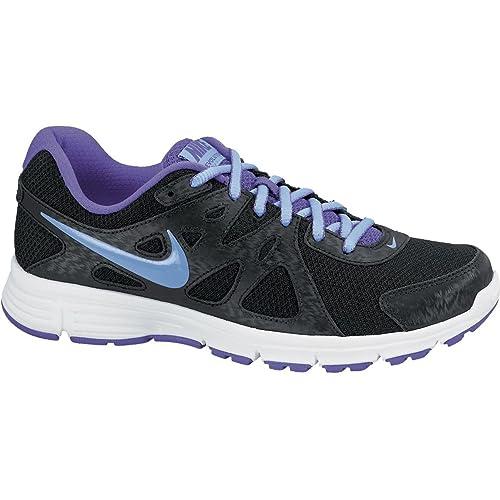 Nike Wmns Revolutions 2 MSL, Zapatillas de Running para Mujer, Negro/Morado/Blanco, 40.5 EU: Amazon.es: Zapatos y complementos