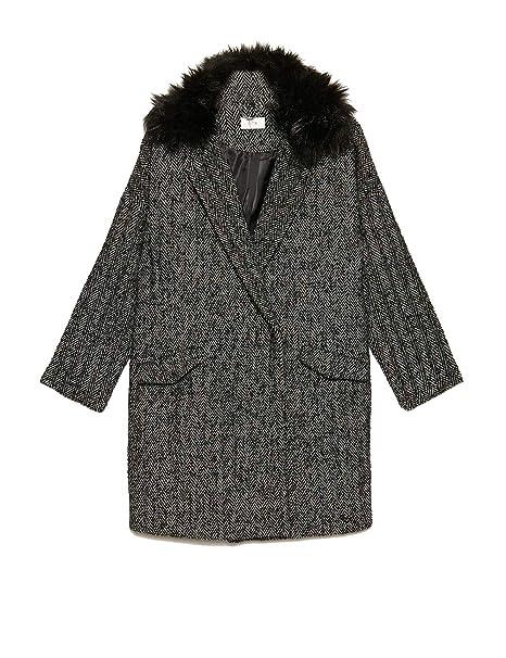 Oltre Damen Blouson Mantel Grau Grau Amazonde Bekleidung