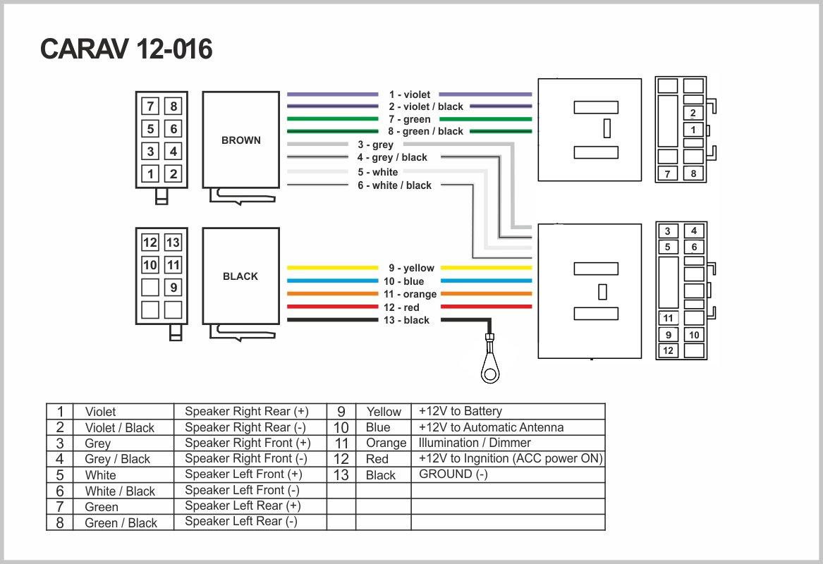 Certains mod/èles C/âblage fil Harnais connecteur Laisse Loom C/âble adaptateur prise st/ér/éo CARAV 12 2001/ 016/Adaptateur radio ISO pour Mazda mod/èles 1987