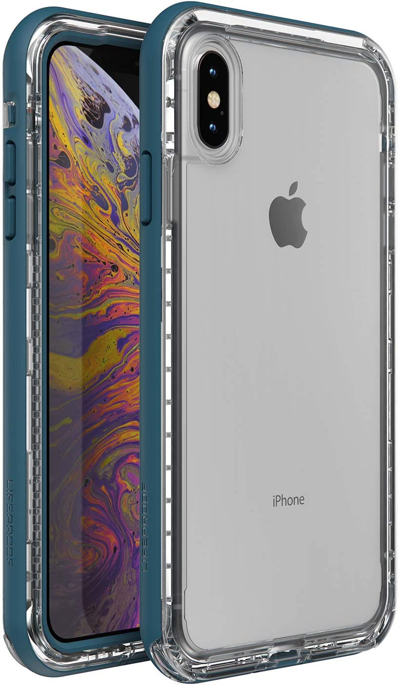 LifeProof Next Series Case for iPhone Xs MAX - Non-Retail Packaging - Clear Lake