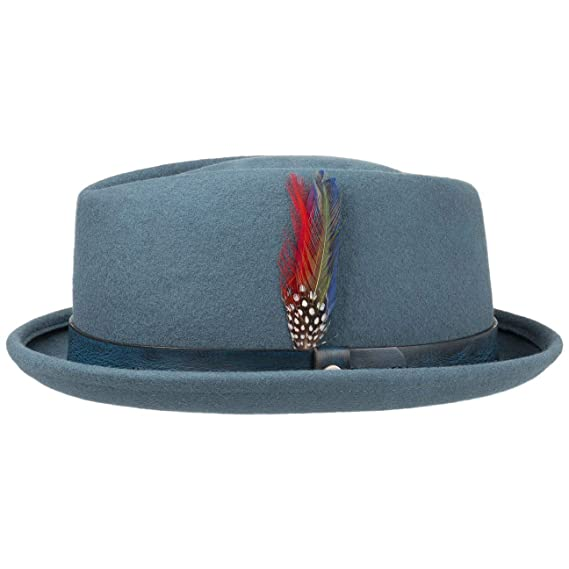 Stetson Kono Pork Pie Wool Felt Hat  Amazon.co.uk  Clothing b398787b160
