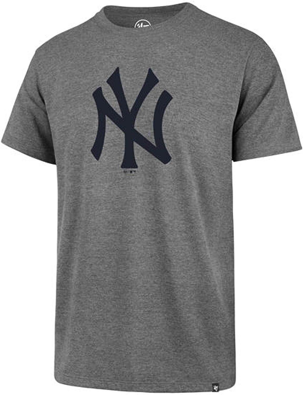 Camiseta de los New York Yankees 47 para hombre - Gris - X-Large: Amazon.es: Ropa y accesorios