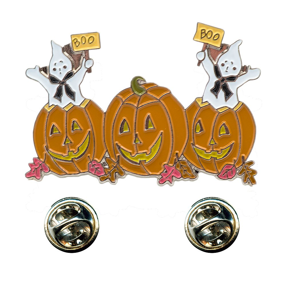 Halloween Haunted Walpurgis Night Pumpkin Pin Badge 0218 Import / Hegerring