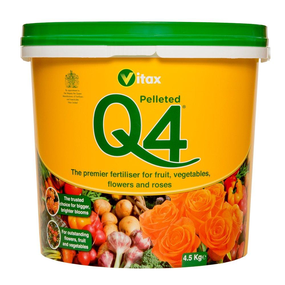 Vitax - Q4, Fertilizzante, 4,5kg Vitax Ltd