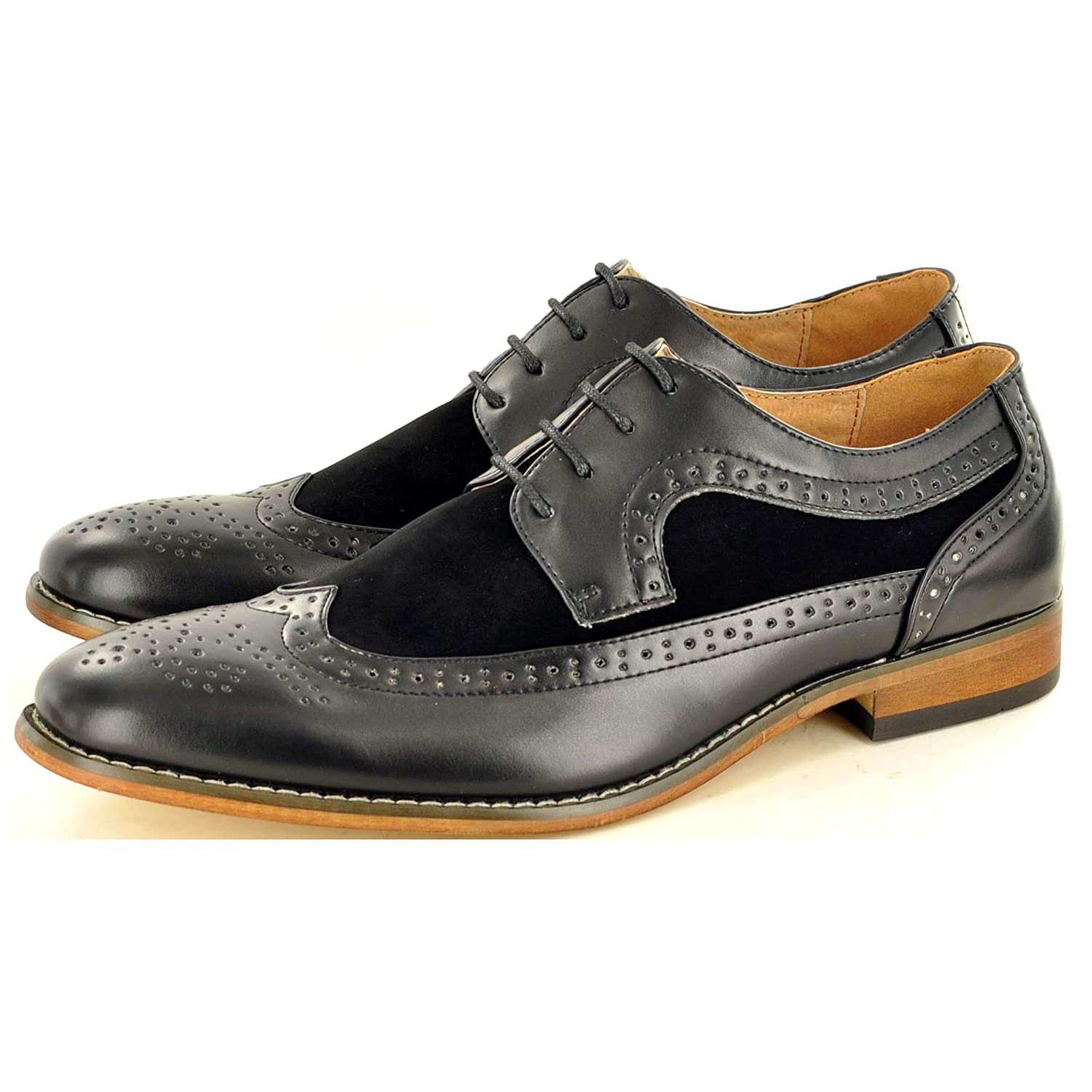 authorized site thoughts on to buy My Perfect Pair Men's Two Tone Leather Lined Brogue Formal Lace Up Shoes