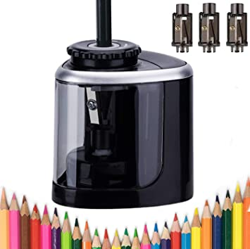Automatic Electric Pencil-Sharpener For Kids Battery Operated Home Office School