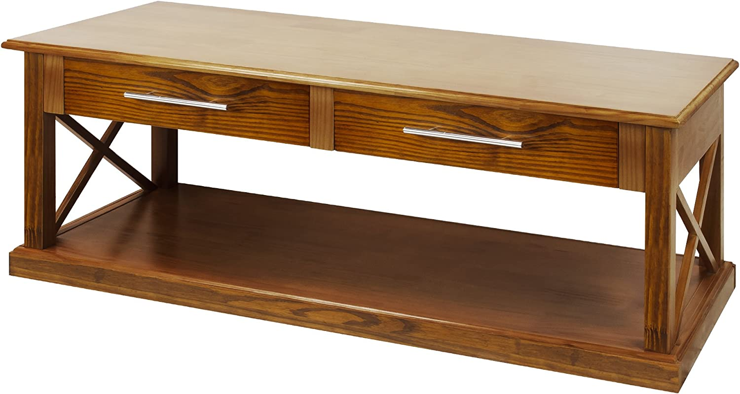 Casual Home Bay View Coffee Table-Warm Brown
