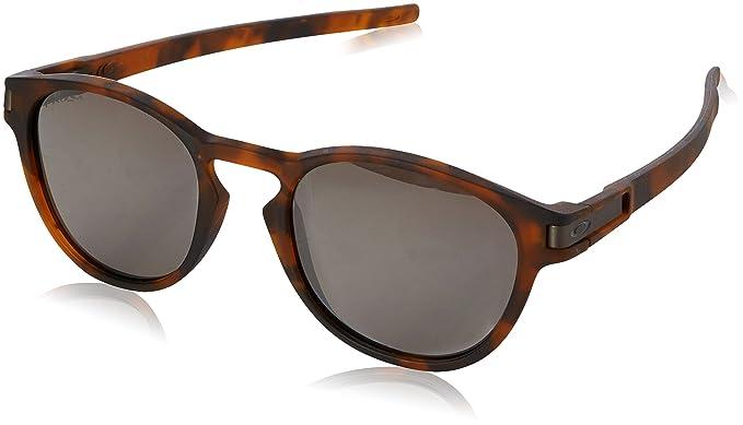 308cba5e1e Oakley para hombre Latch non-polarized Iridium Oval anteojos de sol, café  mate tortuga