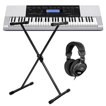 Casio CTK-1100 4200 - Teclado (Incluye soporte y cascos: Amazon.es: Instrumentos musicales