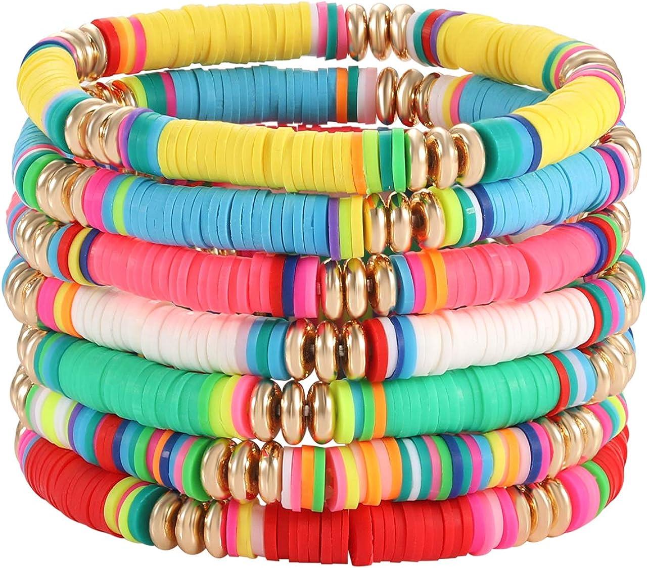 Multi Coloured Beach Men/'s Surf Bracelet