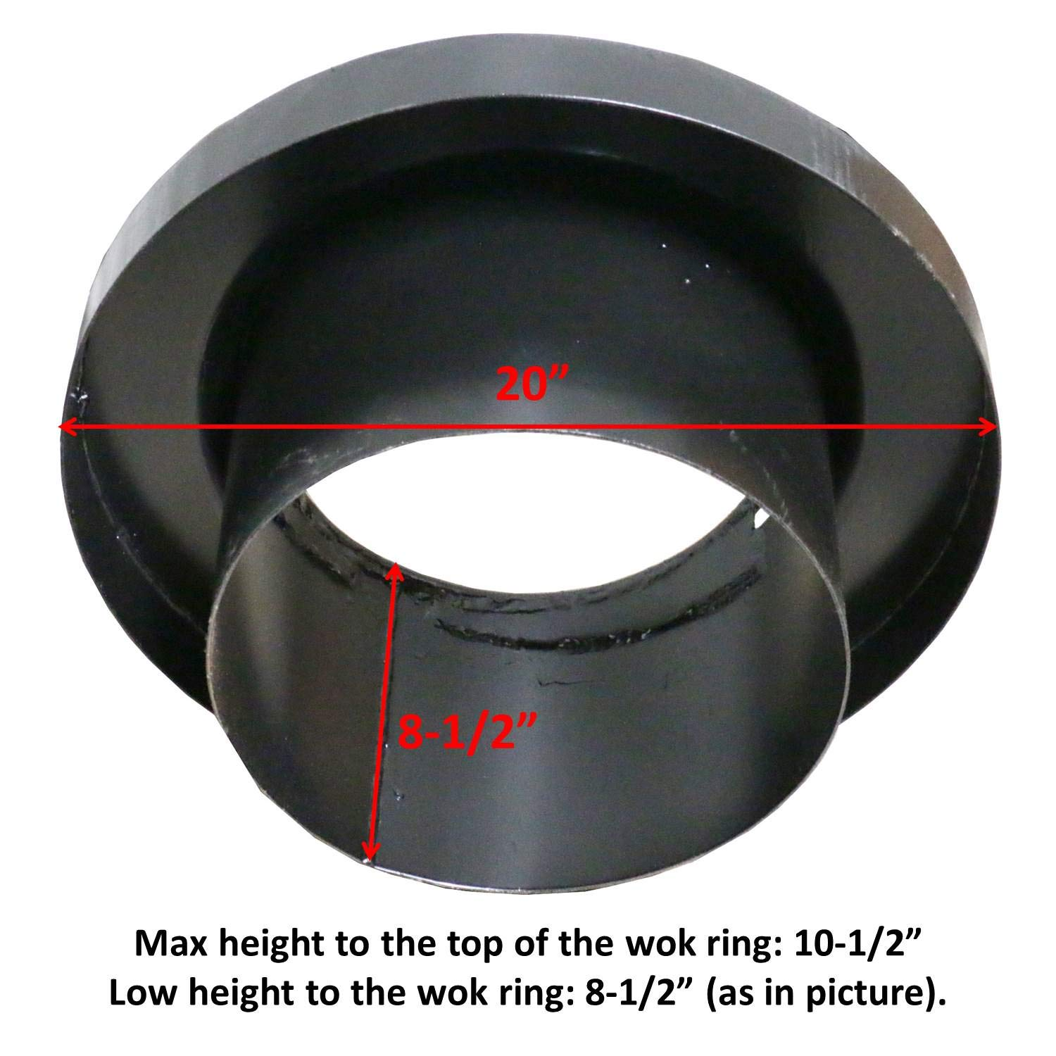 Chinese Wok Range Adapter from 18'' to13''