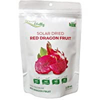 Green Valley Premium Solar Dried Dragon Fruit, 100% Natural, 2.29 Ounce (Red Dragon Fruit)
