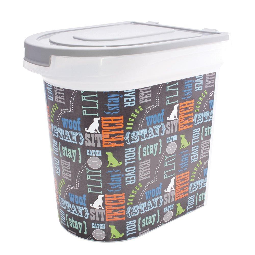 Paw Prints 37186 26 Pound Pet Food Storage Container, 15.5'' X 13.25'' X 16.75'' by Paw Prints