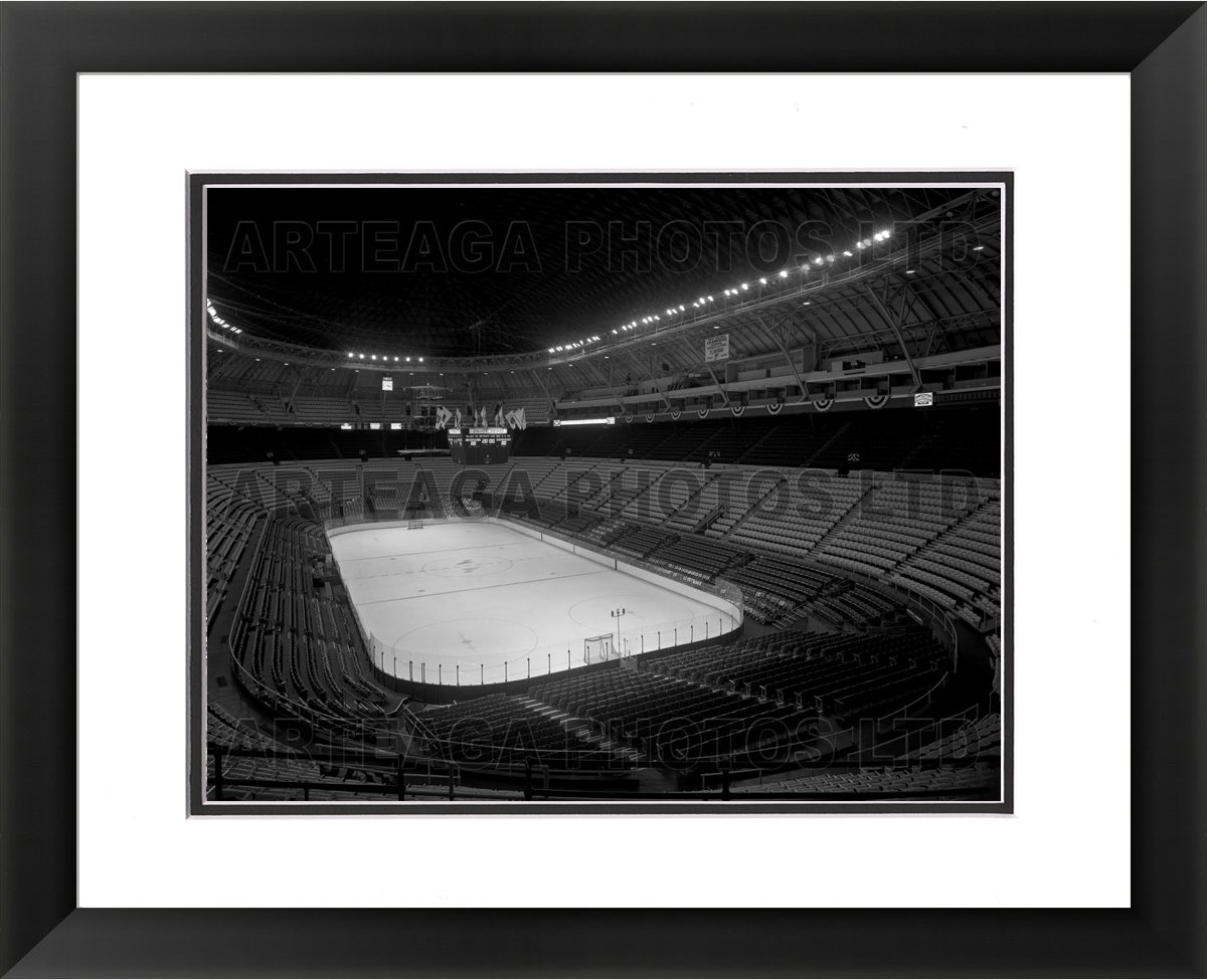 St. Louis Arena Inside in 1970 - Original Photography Print - Arteaga Photos - 24''x28'' Framed Double Matted Print