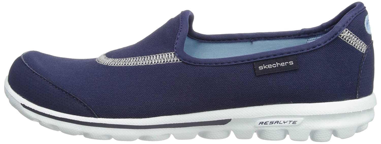 Skechers Performance Women's Go Walk Slip-On Walking Shoe B0058XLNK0 9 B(M) US|Navy