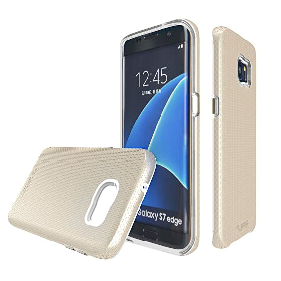 97e62854e9b4 Image Unavailable. Image not available for. Color  Toiko  X-Guard  Case for Samsung  Galaxy S7 Edge Protective Cover with Shock