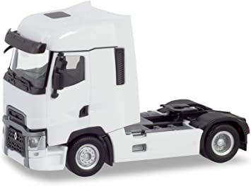 H0 weiß Herpa 310628  Renault T Zugmaschine Auto Modell 1:87