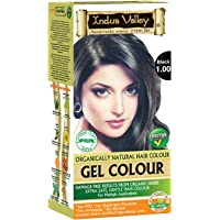 Indus Valley Natural Black Hair Colour- 1.0, 300 gm