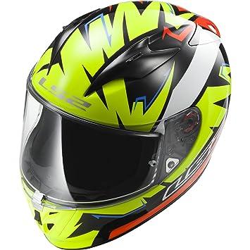 LS2 Casco, Casco De Motocicleta 103239954, Multicolor, S