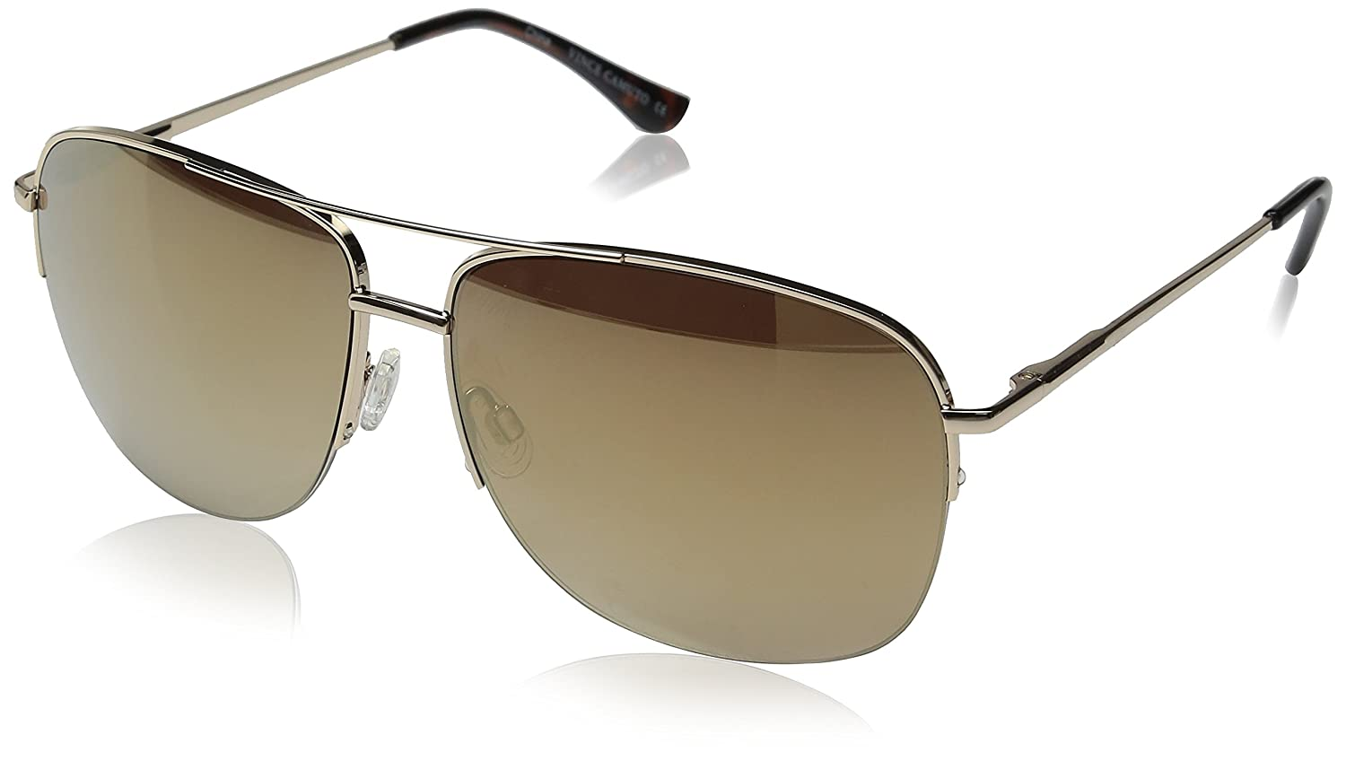 ca14defcec Amazon.com  Vince Camuto Women s Vc709 Gld Aviator Sunglasses