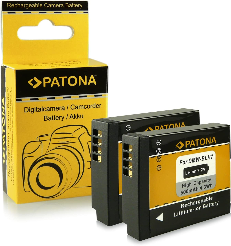 Bater/ía Oficial para C/ámaras Panasonic Lumix Serie GX800, Serie LX15, Serie GF7 Panasonic Lumix DMW-BLH7