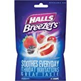 Halls Breezers Cough Drops, Cool Berry, 6 Packs