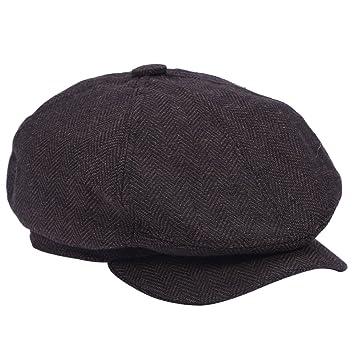Asixx Sombrero Hombre, Sombreros Gorras, de Algodón, Diseño de Moda, Un Buen
