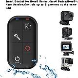 COOSA GoPro Fernbedienung ( Wifi, Smart Remote, Fernbedienung für Hero5, Hero4+ Hero4 Series, Hero session, Hero3+ ) mit verstellbarem Armband