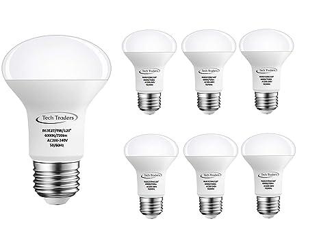 Tech traders r63 lampadina per faretto a led e27 9 w colore