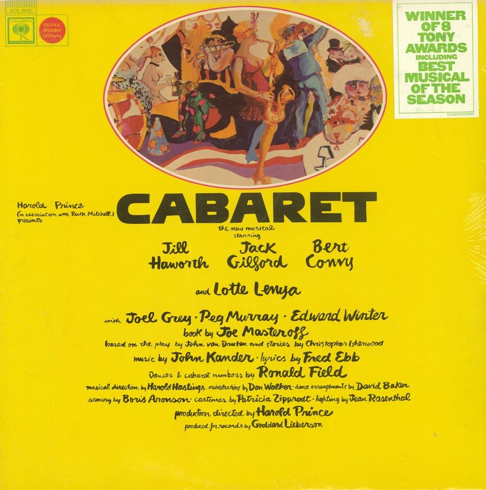 Cabaret: Original Broadway Cast by Columbia Masterworks