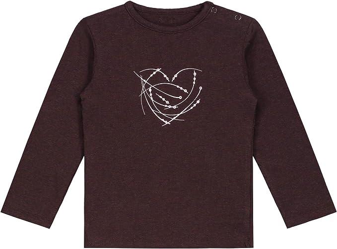 Pr/énatal Baby M/ädchen Langarmshirt Grey