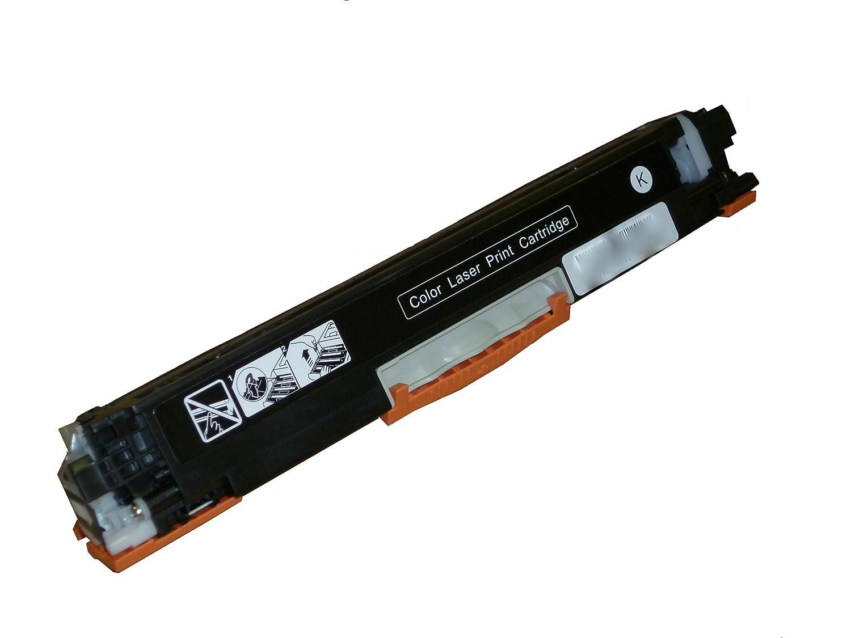 Bramacartuchos - Tóner compatible para Hp 126A CE310A NEGRO, Pro ...