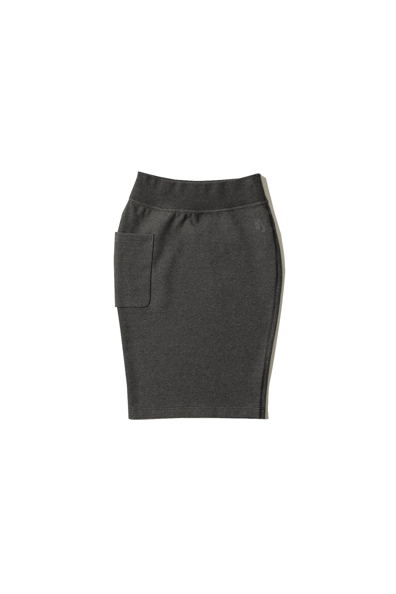 Nike Lab Essentials Women's Cotton Skirt (L, Heather/Black-Black)