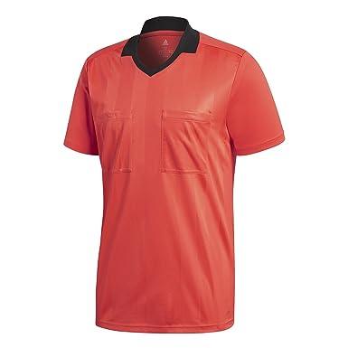 bc65018c8 Amazon.com: adidas Referee 18 Short-Sleeve Jersey - Men's Soccer ...