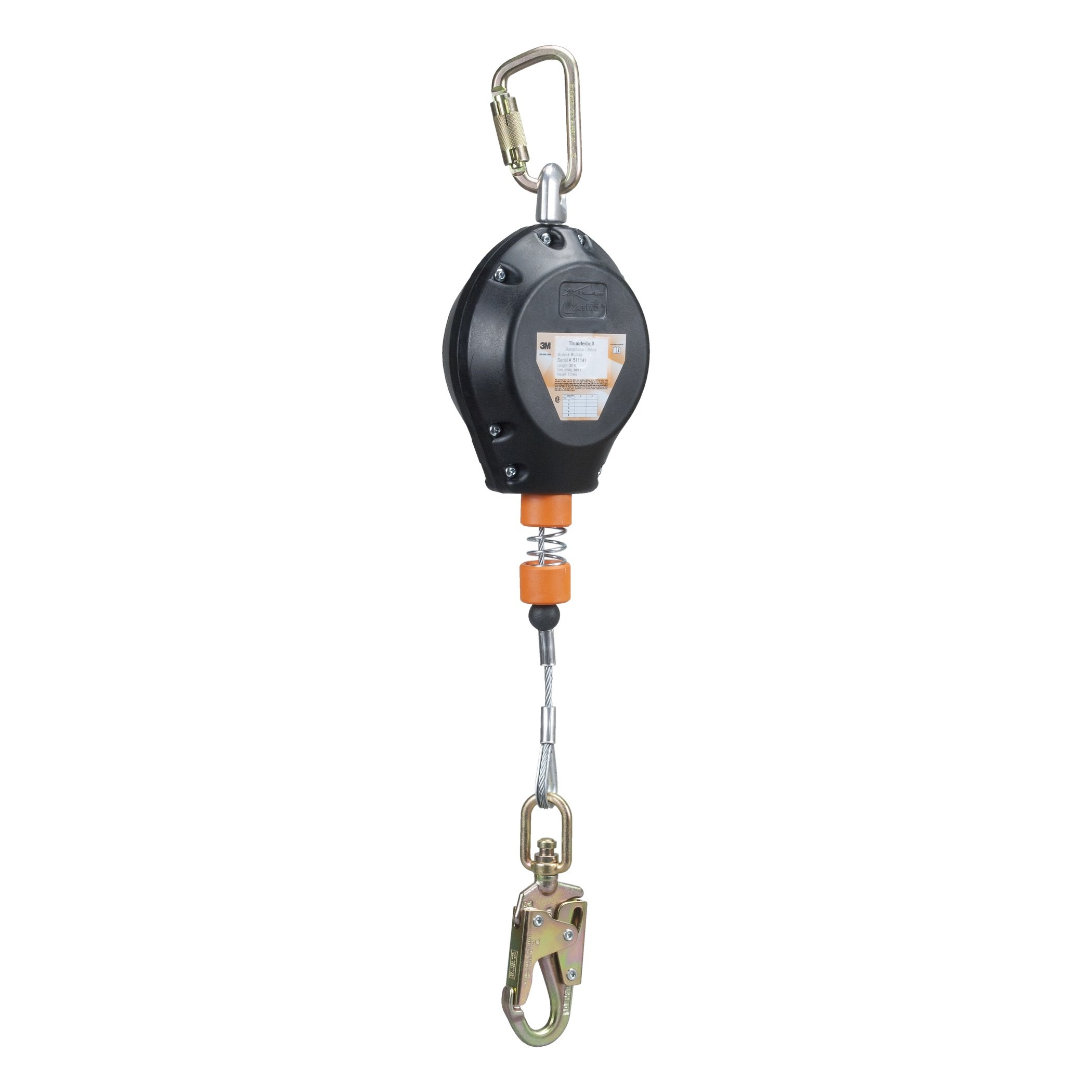RLD Series RLD-20 Self-Retracting Lanyard, 20 foot cable