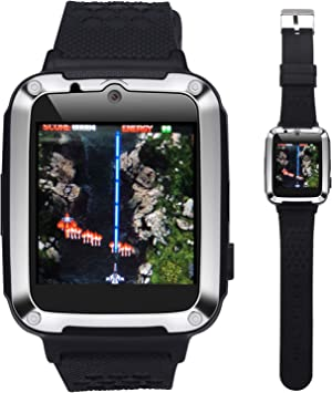 AMENON Kids Smart Watch for Boys Girls - Kids Smartwatch Phone/Calls/One Button SOS/Puzzle Games/Child Wrist Watch Toys 3-14 Years New Year Holiday ...