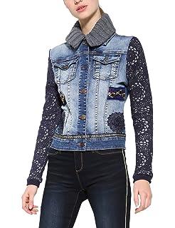 Desigual Denim Jacket Parlermo Woman Blue Chaqueta de ...