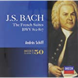 バッハ:フランス組曲全曲、イタリア協奏曲
