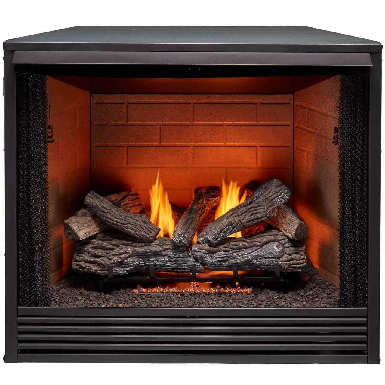 Duluth Forge PC36VFC Universal Ventless Firebox, 36 Inch, Black by ProCom Heating