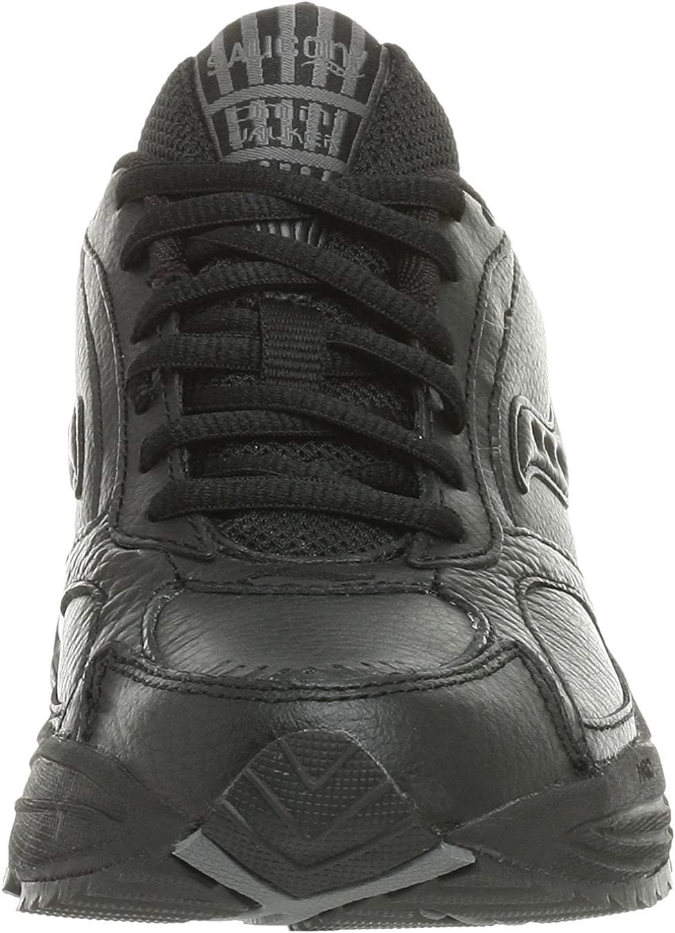 Saucony Women's Grid Omni Walker Walking Shoe,Black,10 N Black