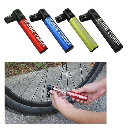 Bicycle Air Pump Mini Bike Tire Inflator Super Light Small Accessory Black