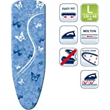Leifheit L71607 Thermo Reflect Ironing Board Cover, Large, Blue