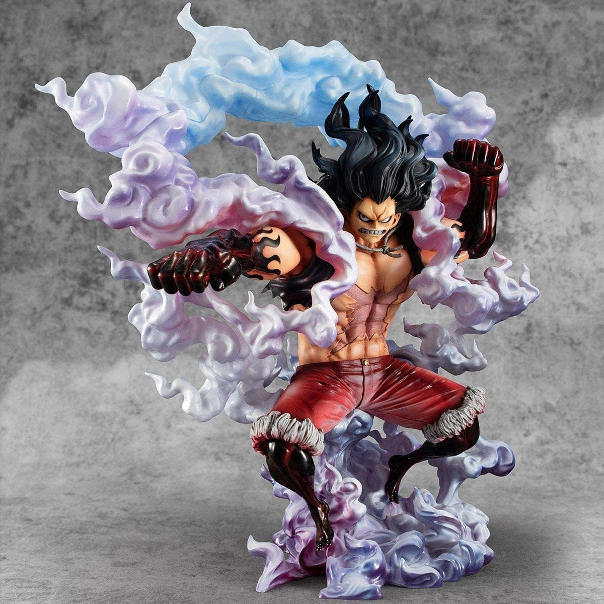 Megahouse Onepiece Portrait of Pirates: Sa-Max Luffy Snake Man PVC Figure, Multicolor