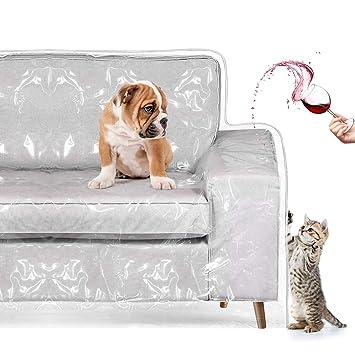 Amazon.com: Homemaxs - Funda de sofá para gato, resistente ...