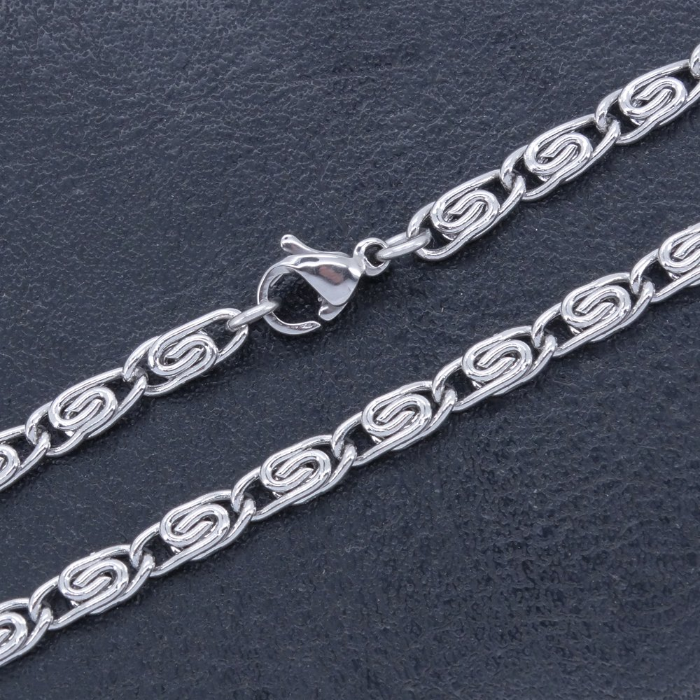 RINYIN Foot Jewelry Stainless Steel Anklets Silver T and CO Chain Ankle Bracelets 10