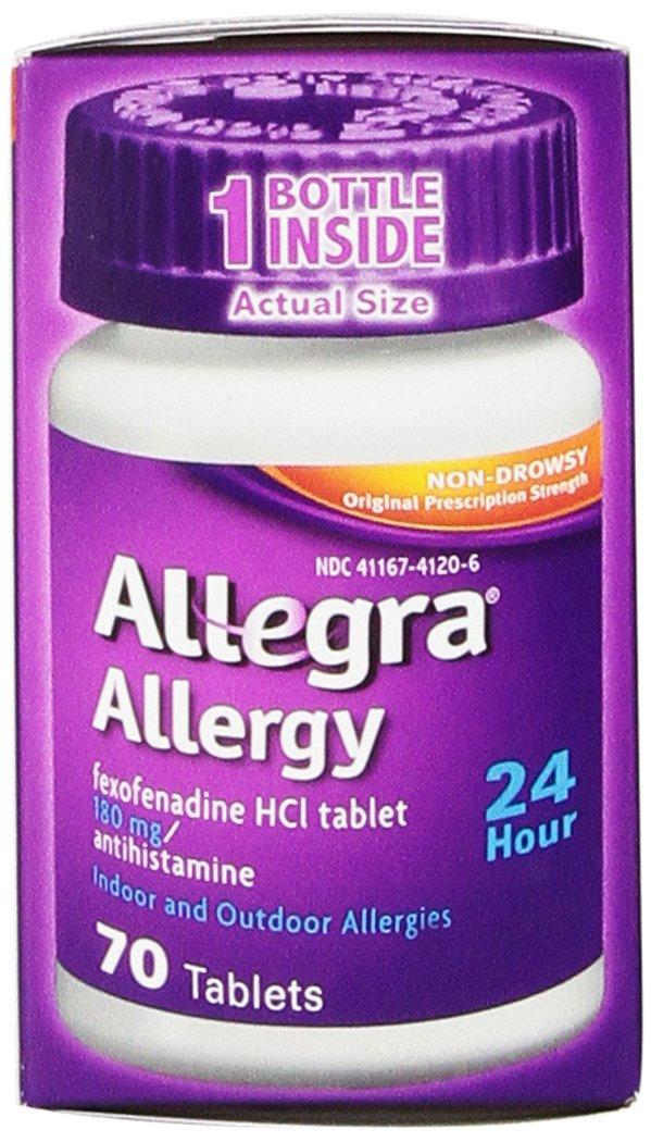 Allergy pill