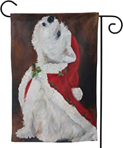"""Ethereal Chenery Joy to The World Chenery Joy to The World Garden Flag,Vertical Double Sized,Outdoor Small Yard Lawn Flag,Yard Outdoor Decoration 12.5""""X18"""""""