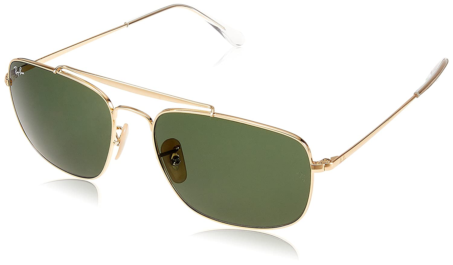 100d3d88e4e Amazon.com  Ray-Ban Men s The Colonel Square Sunglasses