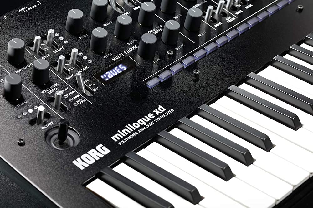 minilogue xd:コントロール